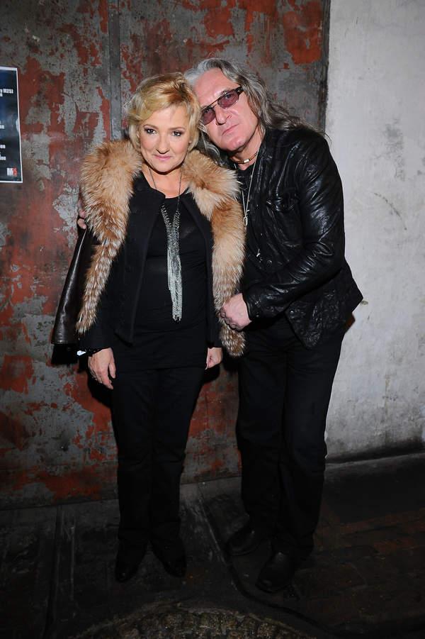 Grzegorz Markowski z żoną Krystyną, 2010 rok
