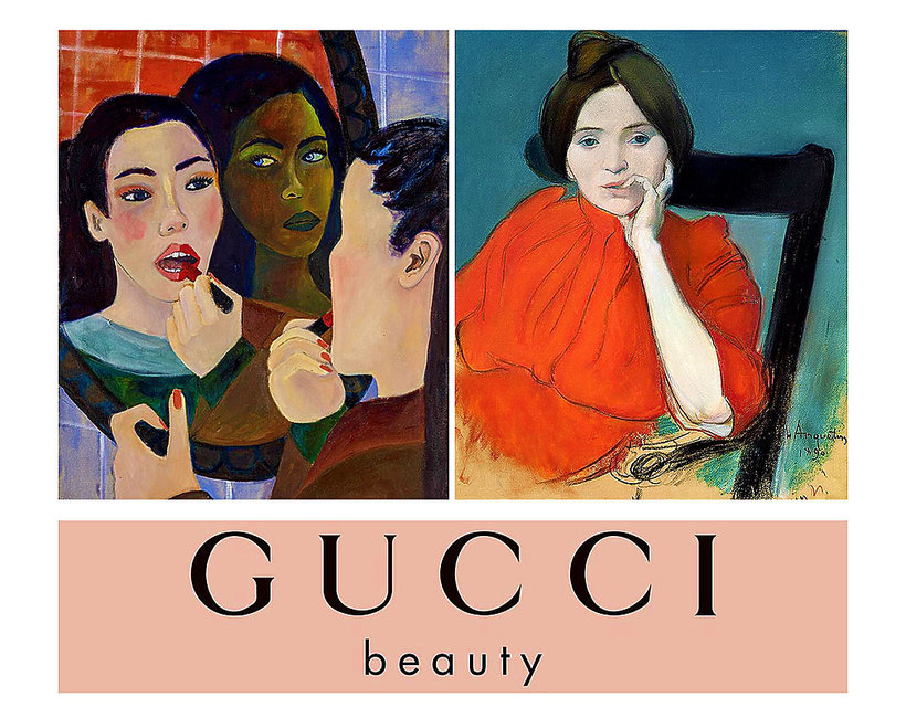 Gucci Beauty na Instagramie