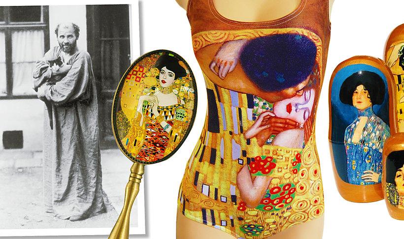 Gustaw Klimt i gadżety