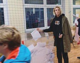 Gwiazdy głosują w wyborach: Anja Rubik