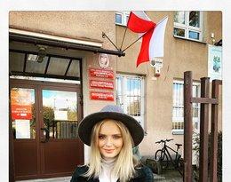 Gwiazdy głosują w wyborach: Olga Kalicka
