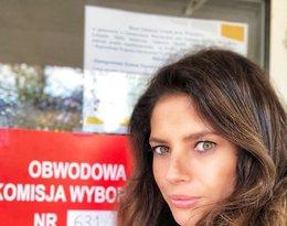 Gwiazdy głosują w wyborach: Weronika Rosati
