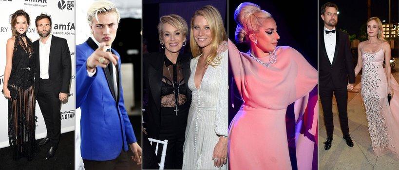 Gwiazdy na amfAR Gala w Hollywood