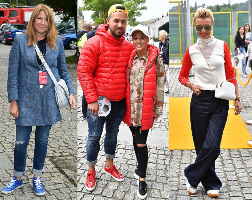 Gwiazdy na charytatywnym meczu WOŚP kontra TVN