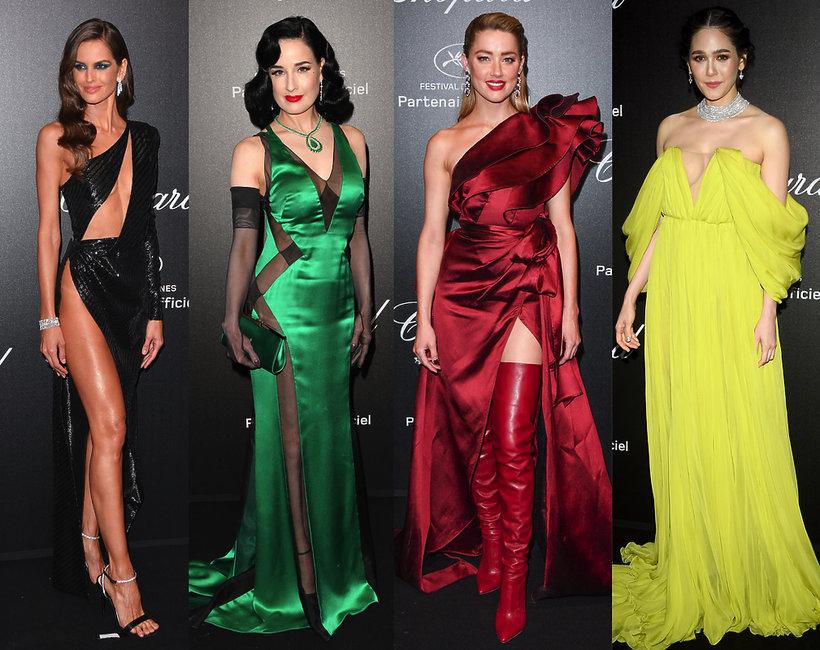 gwiazdy na imprezie Chopard, Cannes 2019