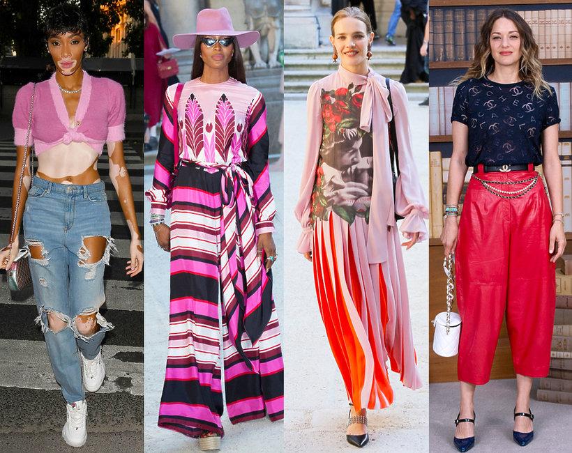 gwiazdy na pokazach haute couture fall winter 2019 w Paryżu