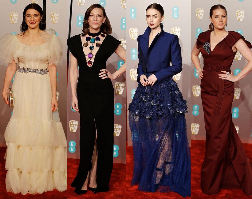 gwiazdy na rozdaniu nagród BAFTA 2019