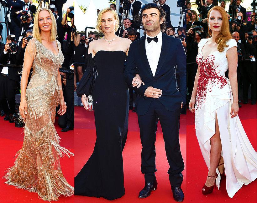 Gwiazdy na zamknieciu w Cannes