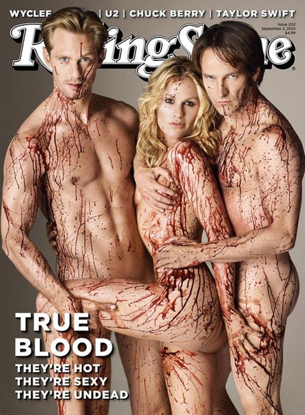 Gwiazdy serialu True Blood na okładce Rolling Stone
