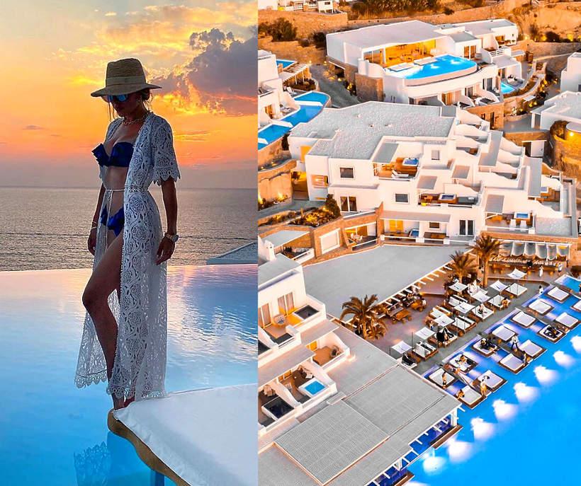 Gwiazdy uwielbiaja ten hotel na Mykonos 2020