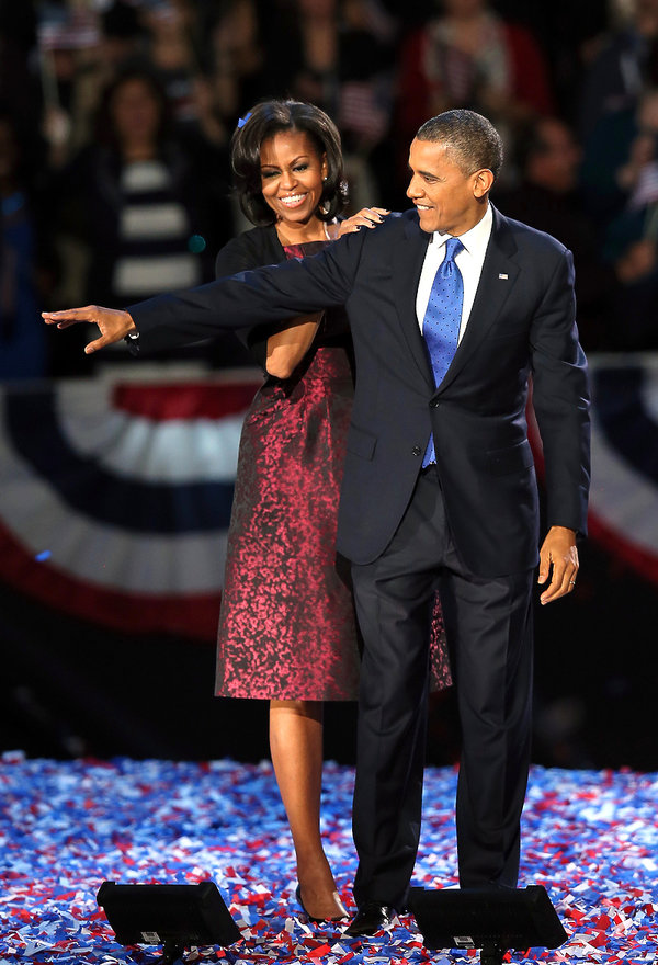 gwiazdy w kreacjach Michael Kors, Michelle Obama