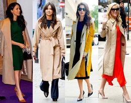 Gwiazdy pokochałycamelowe płaszcze! Jak je nosić?