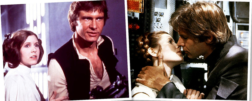 Gwiezdne wojny, Carrie fisher, Harrison Ford