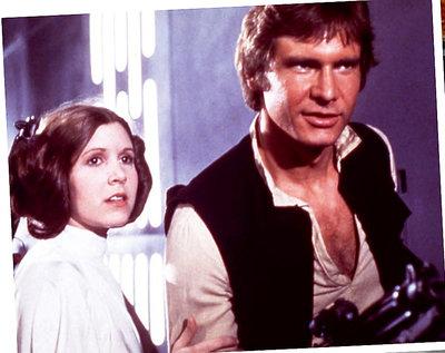 Gwiezdne wojny, Carrie fisher, Harrison Ford