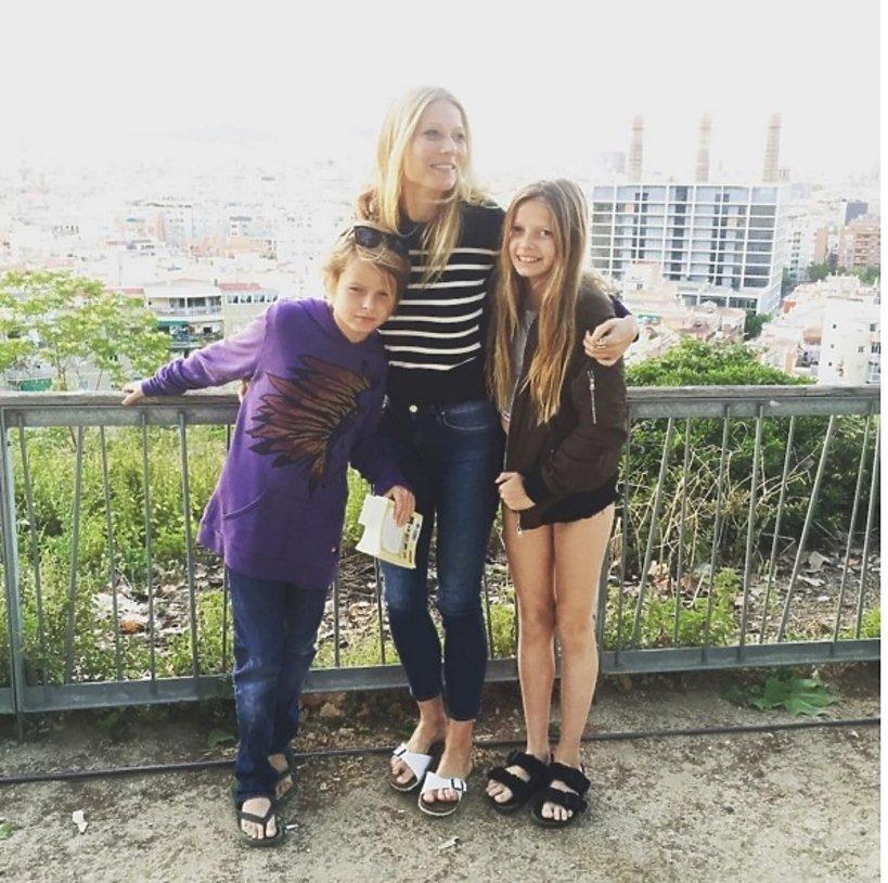 Gwyneth Paltrow z dziećmi