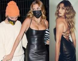 Hailey Bieber w sukience polskiej marki! Modelka zachwyciła w skórzanej kreacji z odkrytymi plecami