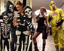 Kościotrupy, diabły i...Lara Croft! Zobacz, jak wyglądały gwiazdy na Halloween