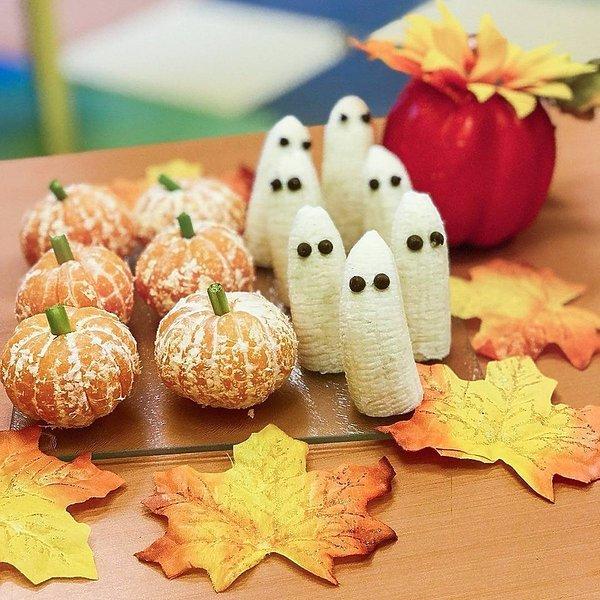 halloween przekaski