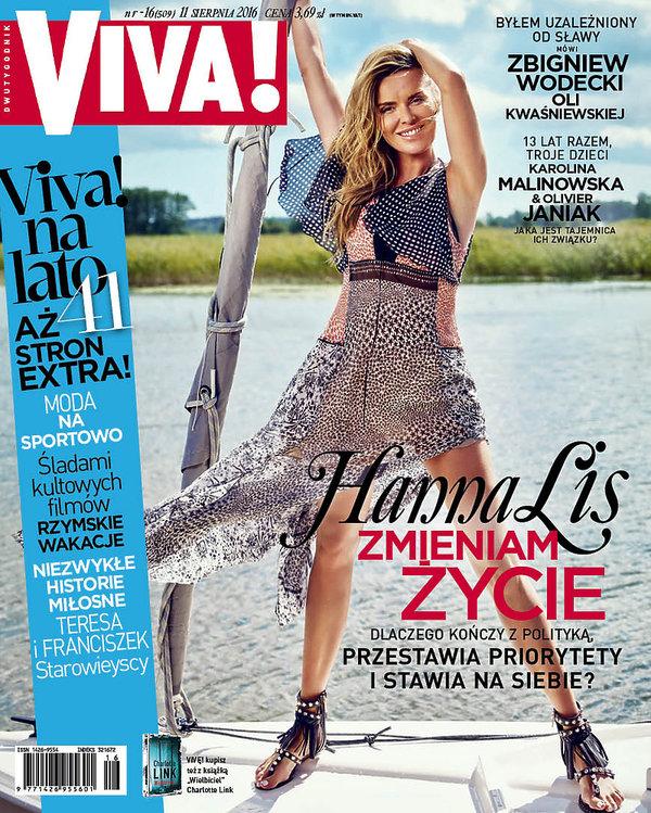 Hanna Lis, Viva! sierpień 2016