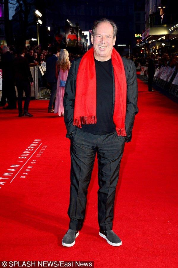 Hans Zimmer w czerwonym szaliku