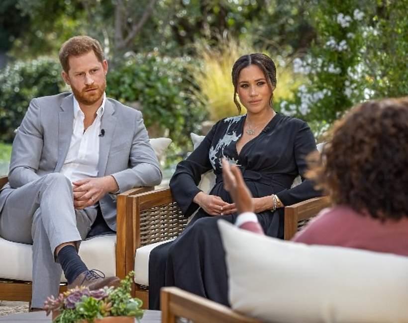Harry i Meghan w wywiadzie z Oprah