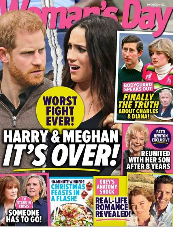 Harry i Meghan Woman's Daily