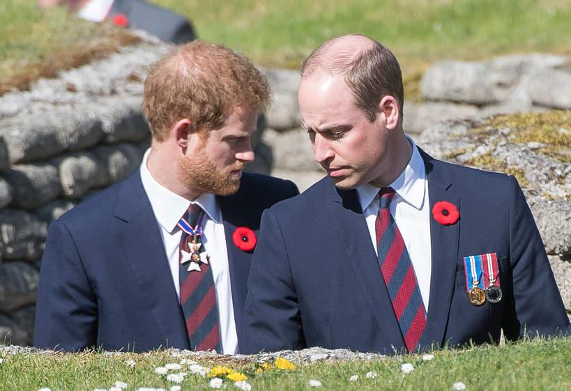 Harry i William kłótnia