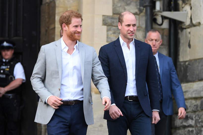 Harry i William relacja