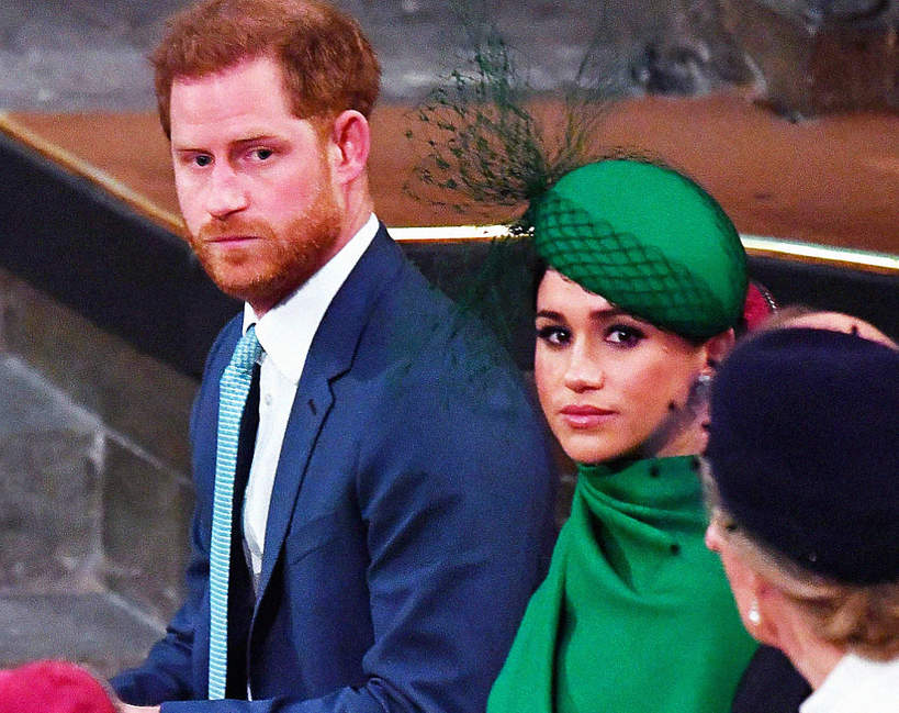 Harry, książę Harry, Meghan