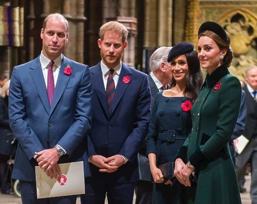Harry, Meghan, Kate, William nazwisko
