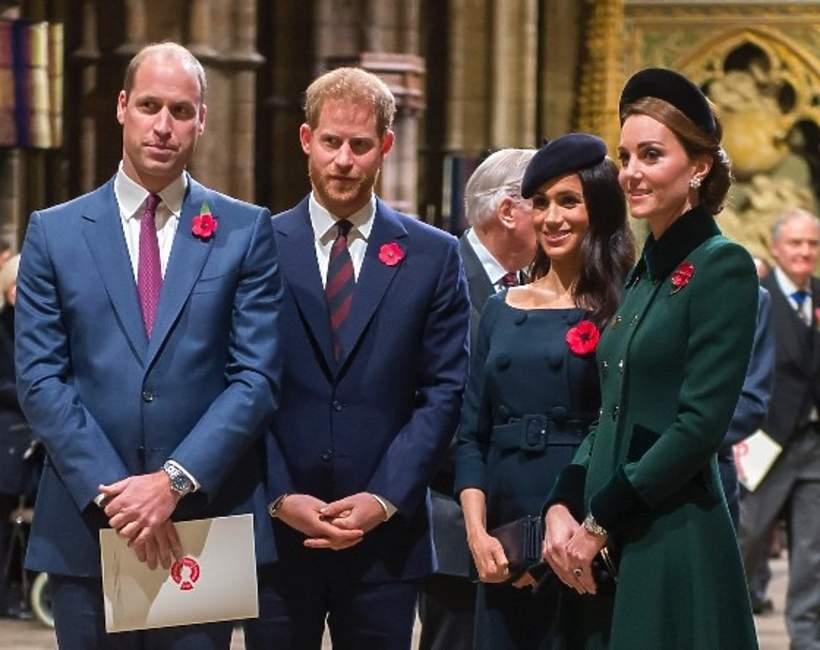 Harry, William, Meghan, Kate