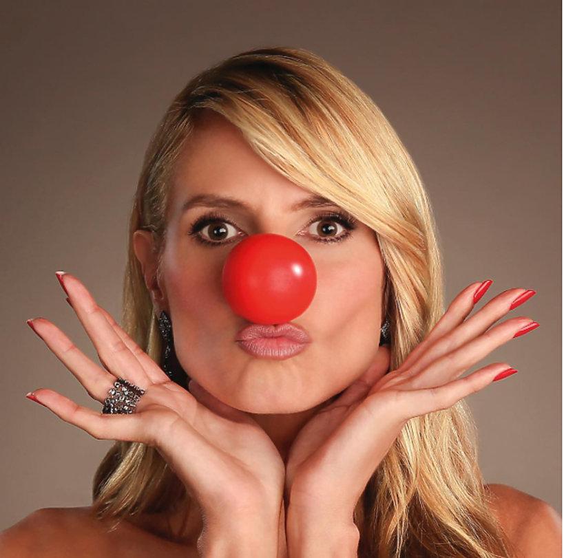 Heidi Klum Red Nose Day