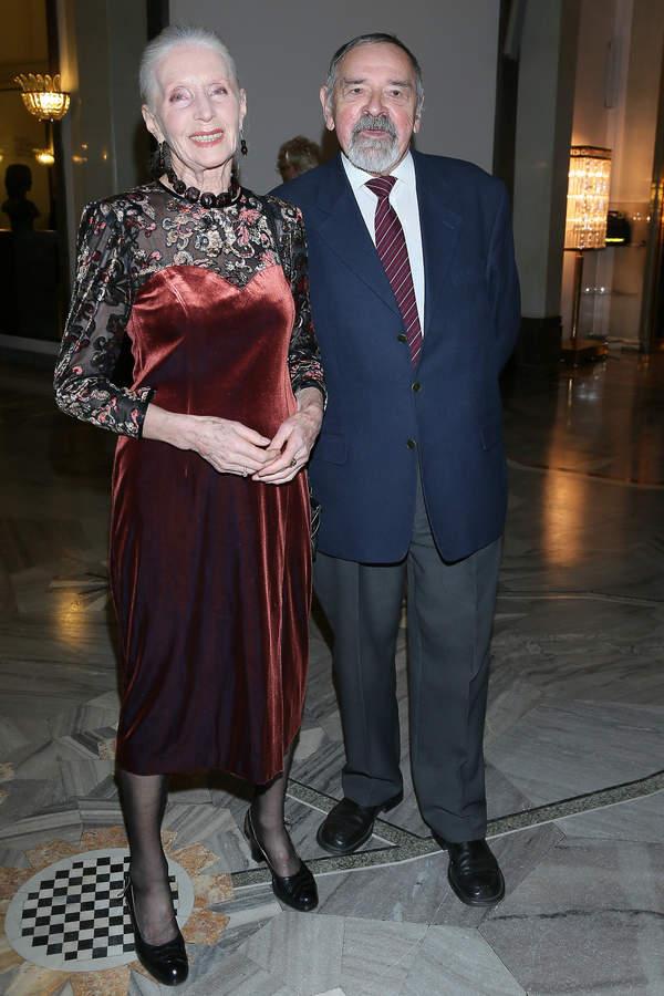 Helena Norowicz z mężem, Marian Pysznik