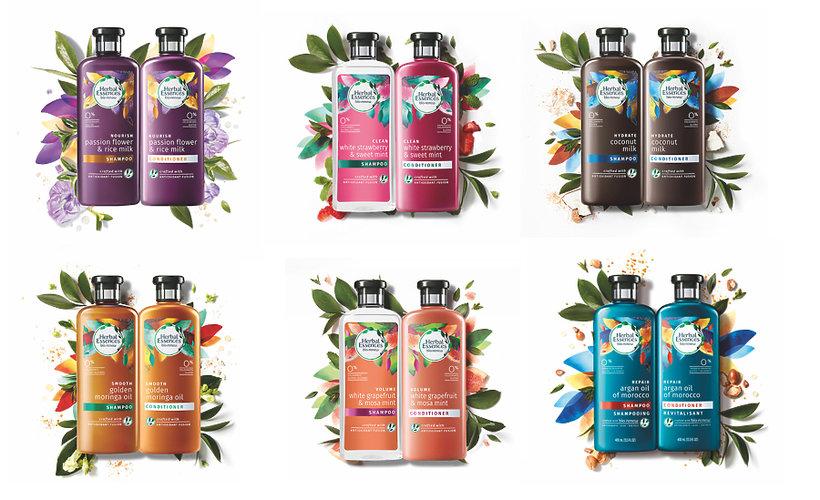 Herbal szampony
