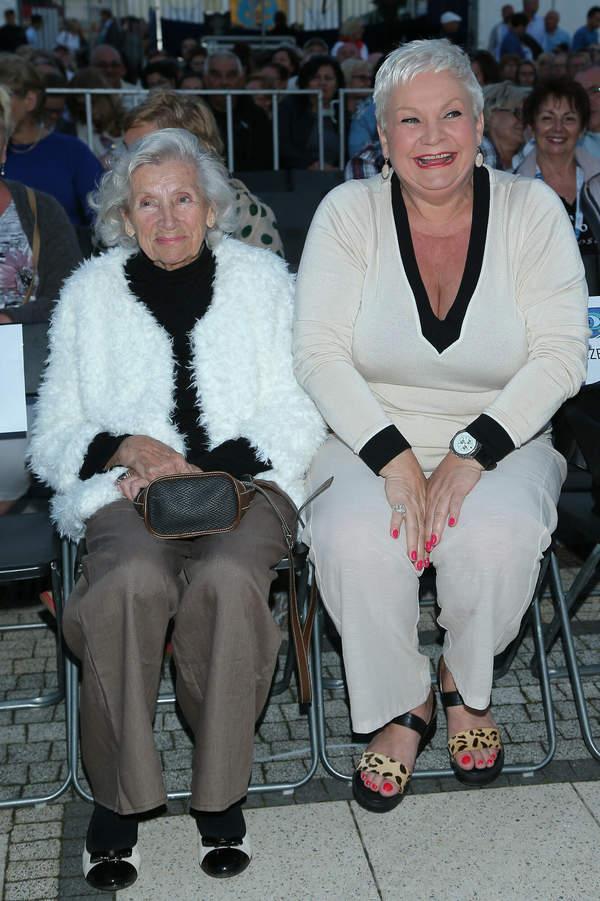Hildegarda Bartel, Joanna Bartel z mamą