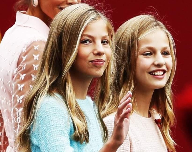 Hiszpańska rodzina królewska, księżniczka Sofia, księżniczka Eleonora