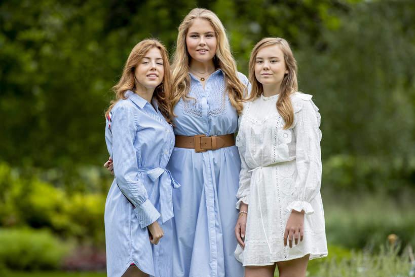 holenderska rodzina królewska: księżniczka Amalia