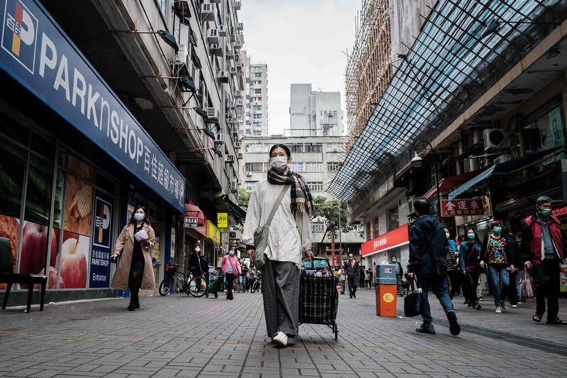 Hongkong, pandemia, koronawirus