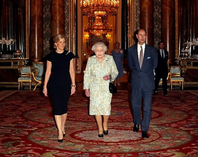 hrabia Wessex Edward książę, królowa Elżbieta II syn