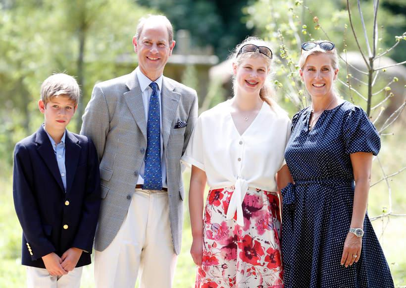 Hrabia Wessex, hrabina Wessex, książęEdward Wessex dzieci