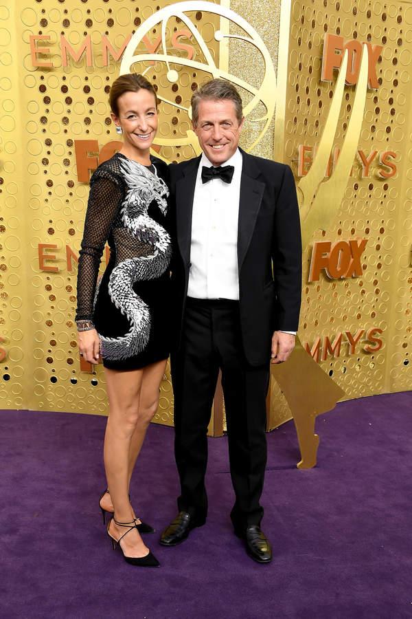Hugh Grant i Anna Elisabet Eberstein