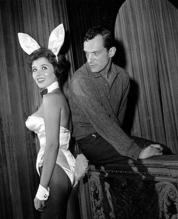 Hugh Hefner, 1961