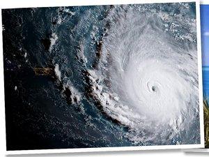 Huragan Irma zniszczył wyspę Johnny Depp