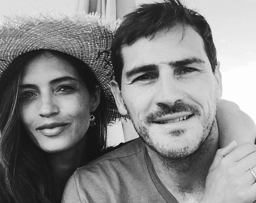Iker Casillas i jego żona Sara Carbonero