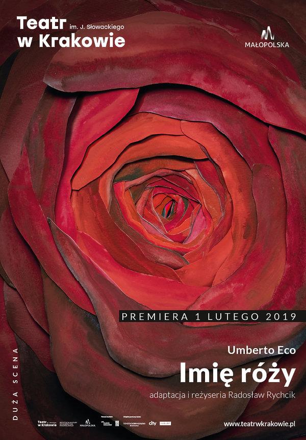 Imię róży plakat