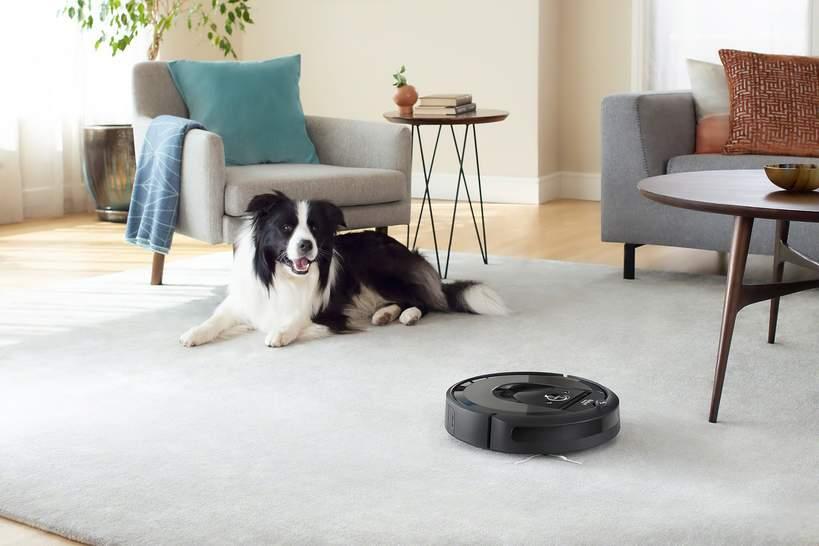 Inteligentny robot odkurzający Roomba i7