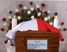 Irena Szewińska, pogrzeb
