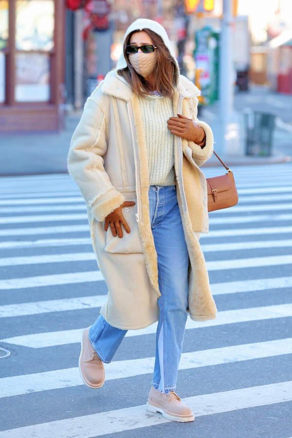 Irina Shayk 2021 w ubraniach polskiej marki