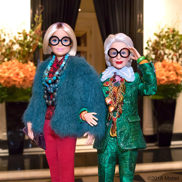 Iris Apfel doczekała się własnej lalki Barbie, Barbie, Kim jest Iris Apfel?