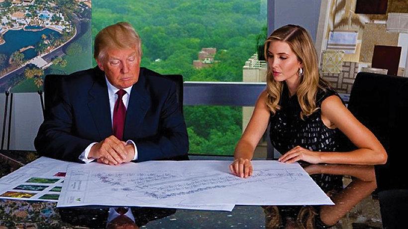 Ivanka Trump doradcą Donalda Trumpa MT